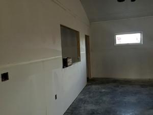 Baptistry-Wall